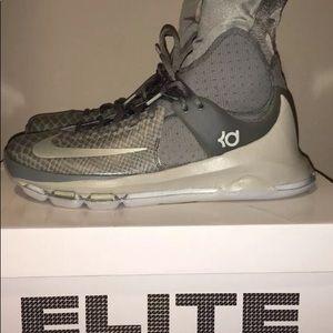 Nike KD 8 Elite Gray Shoes men's size 11.5 new